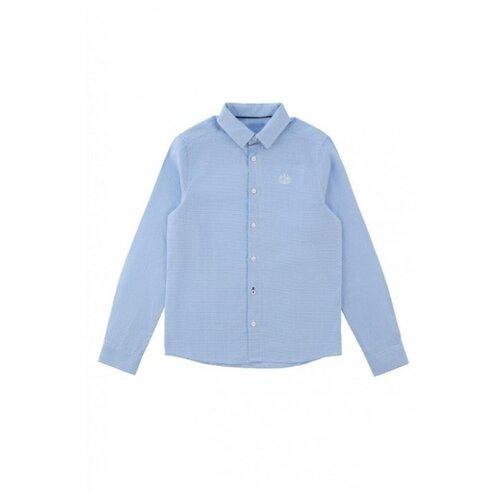 Рубашка INFUNT размер 158, голубой