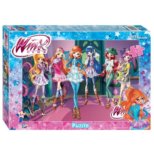 Купить Пазл Step puzzle Winx (94093), 160 дет., Пазлы