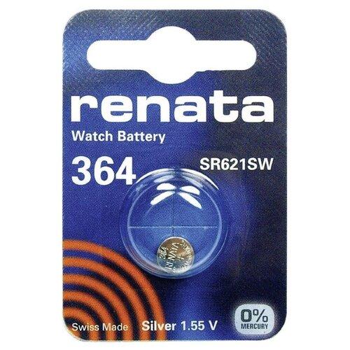 Фото - Батарейка Renata SR621SW, 1 шт. батарейка renata 335 1 шт