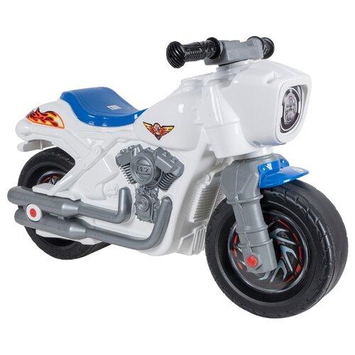 Купить Каталка-толокар Orion Toys Мотобайк (504) белый, Каталки и качалки