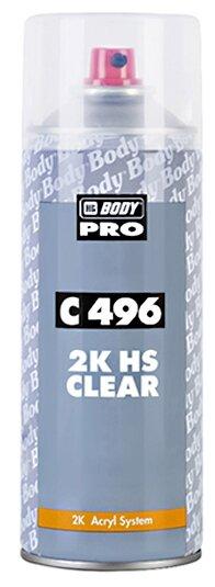 Аэрозольный автомобильный лак HB BODY PRO C496 HS