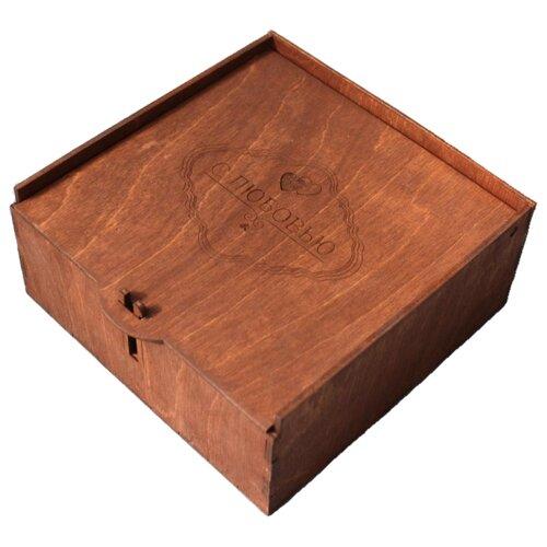 Коробка подарочная ArtandWood С любовью палисандр