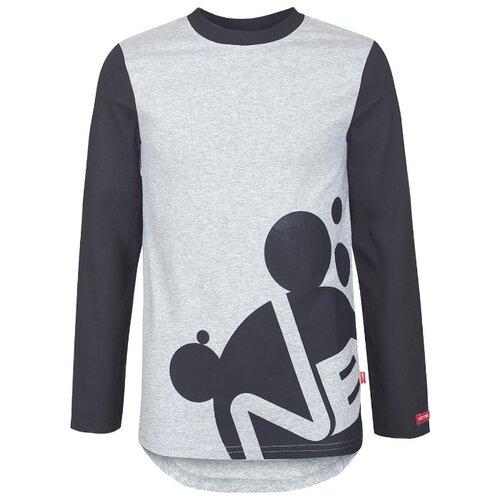 Купить Лонгслив Nota Bene размер 140, черный, Футболки и майки