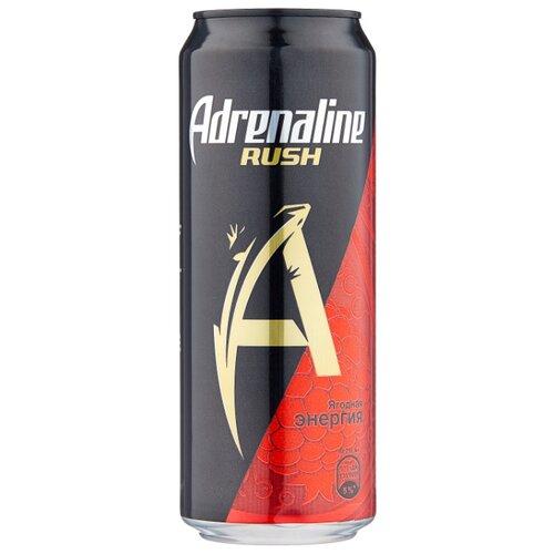 Энергетический напиток Adrenaline Rush Juicy ягодная энергия, 0.449 л