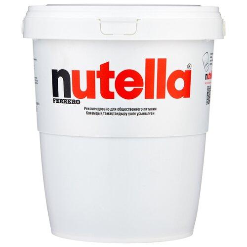 Nutella Паста ореховая с добавлением какао в ведерке 3 кг