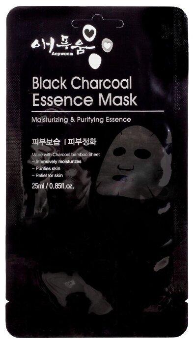 Aepwoom тканевая маска с черным углем