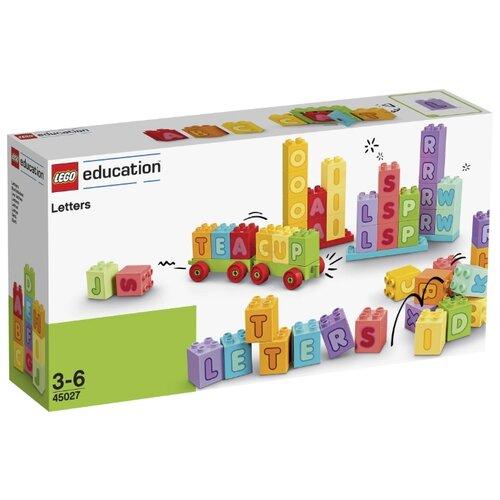 Купить Конструктор LEGO Education PreSchool DUPLO 45027 Английский Алфавит, Конструкторы