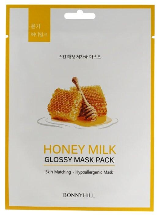 BONNYHILL Тканевая маска с экстрактами молока и мёда