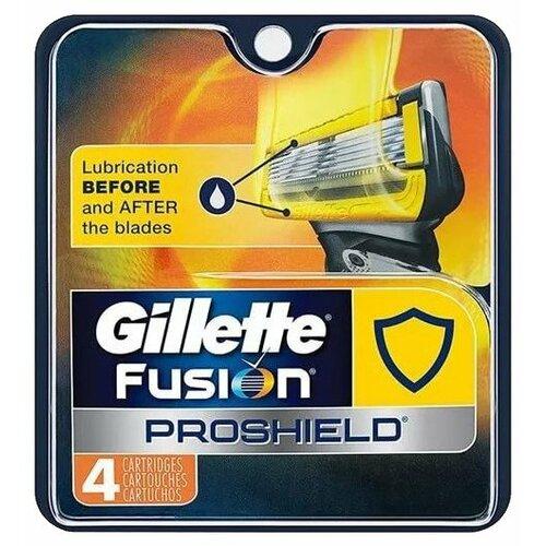 Сменные кассеты Gillette Fusion5 ProShield, 4 шт.