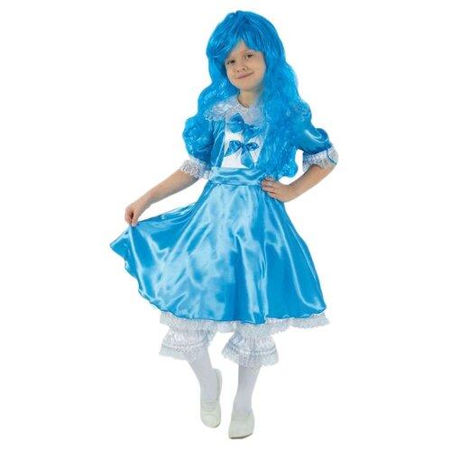Купить Костюм Страна Карнавалия Мальвина (1893422-1893424), голубой, размер 98-104, Карнавальные костюмы