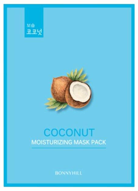 BONNYHILL Увлажняющая тканевая маска с кокосовым маслом