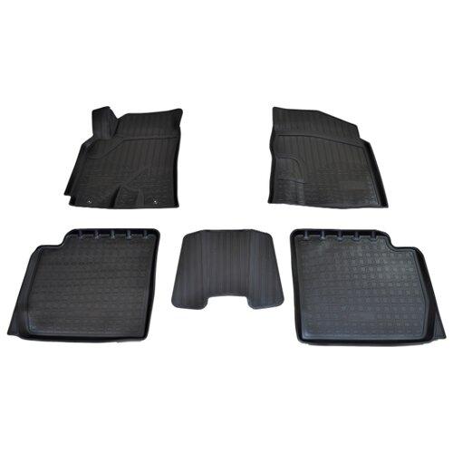 Комплект ковриков NorPlast NPA11-C11-703 5 шт. черный