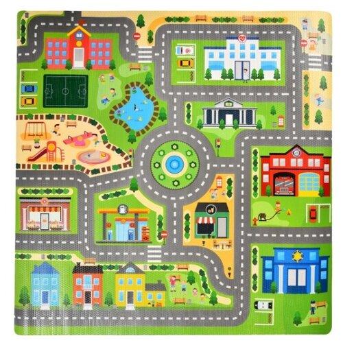 Купить Коврик ЯиГрушка Город (59845), Игровые коврики