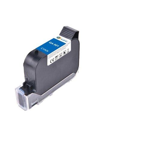 Фото - GA-001C струйный пигментный голубой картридж для принтеров GG-HH1001B, GG-HH1001A, 42 ml клей аквенс ga 6642 gel aquence ga 6642 gel 20 кг