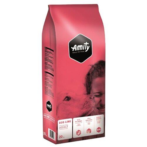 Сухой корм для собак Amity Eco Line для здоровья кожи и шерсти, для здоровья костей и суставов 20 кг