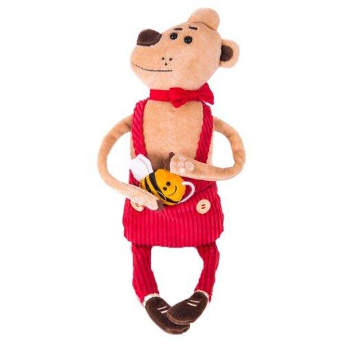 цена на Мягкая игрушка Gulliver Медведь Чарльз 21 см