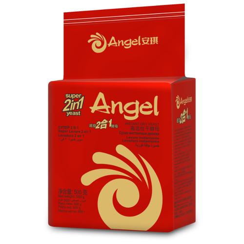 Дрожжи Angel сухие быстродействующие 2 в 1 500 г Angel   фото