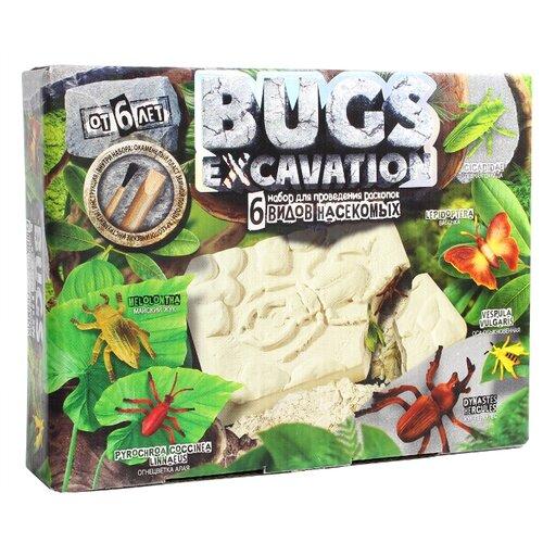 Купить Набор для раскопок Danko Toys Bugs Excavation Насекомые №3, Наборы для исследований