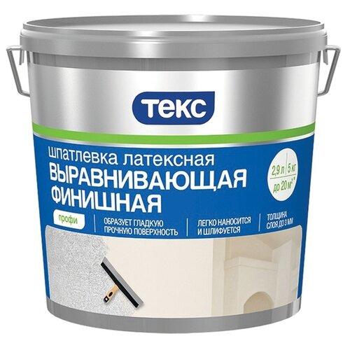 Фото - Шпатлевка ТЕКС латексная выравнивающая финишная Профи шпатлевка финишная knauf 5 кг