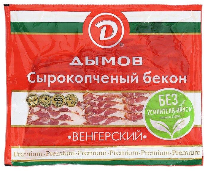 Дымов Бекон свинина Венгерский сырокопченый 200 г