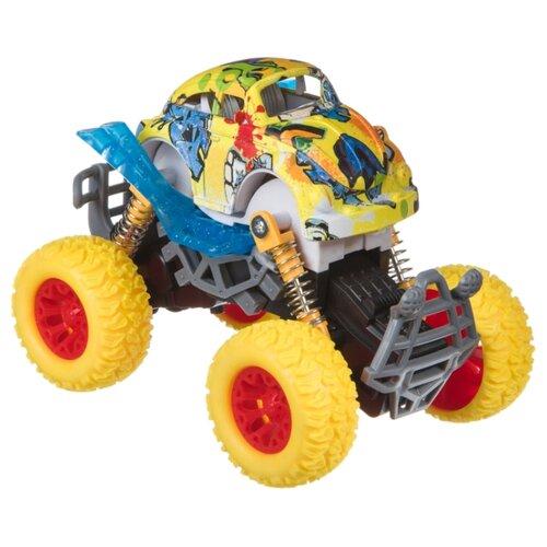 Купить Монстр-трак BONDIBON Парк техники (ВВ4504) желтый, Машинки и техника