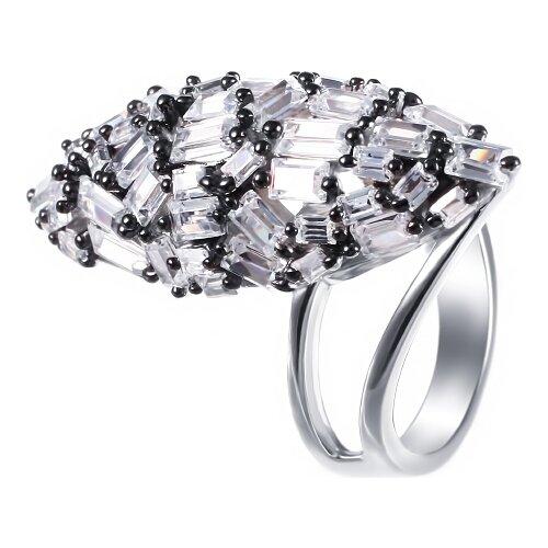 JV Кольцо с фианитами из серебра SY-355062-R-KO-002-WG, размер 17 jv кольцо с стеклом и фианитами из серебра sy 356989 r ko 002 wg размер 16 5
