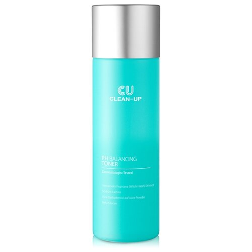 CU Skin Тонер CLEAN-UP pH Balancing 200 мл a pieu тонер hamamelis 200 мл