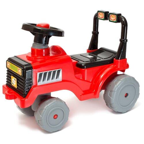 Каталка-толокар Orion Toys Бэби трактор (931) со звуковыми эффектами красный каталка толокар orion toys мотоцикл 2 х колесный 501 зеленый