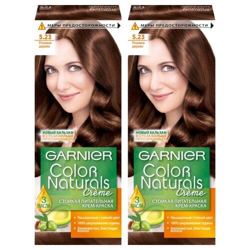 Купить GARNIER Color Naturals стойкая питательная крем-краска для волос, 2 шт., 5.23 пряный каштан