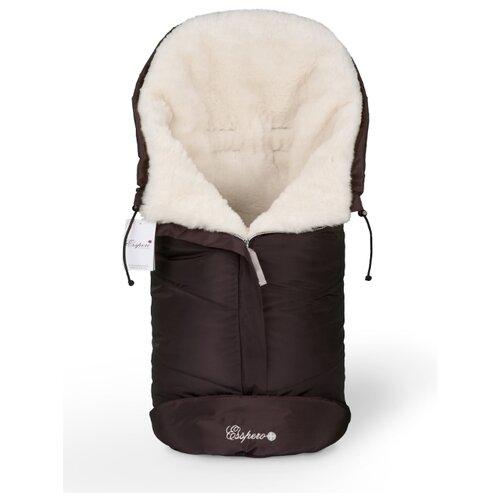Купить Конверт в коляску Esspero Sleeping Bag White (натуральная 100% шерсть), Конверты и спальные мешки