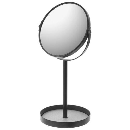Зеркало косметическое настольное Yamazaki Tower черный