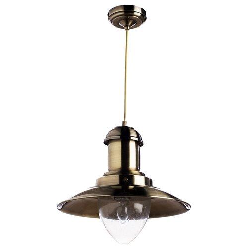 Светильник Arte Lamp Fisherman A5530SP-1AB, E27, 100 Вт подвесной светильник arte lamp fisherman a5530sp 1ss
