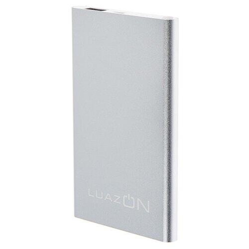 Аккумулятор LuazON 4000 мАч 4601753, серебристый аккумулятор