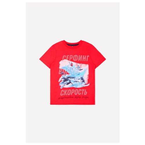 Футболка crockid размер 92, насыщенно-красный платье crockid размер 134 насыщенно красный