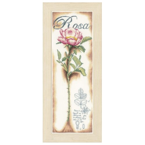 Купить Lanarte Набор для вышивания Розовые розы 20 x 63 см (0154334-PN), Наборы для вышивания