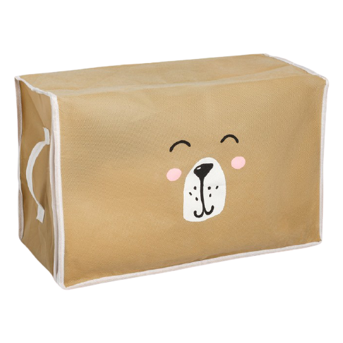 textura короб для хранения с крышкой 28 х 30 х 15 см home Textura Короб для хранения Медведь 30 х 45 х 20 см бежевый