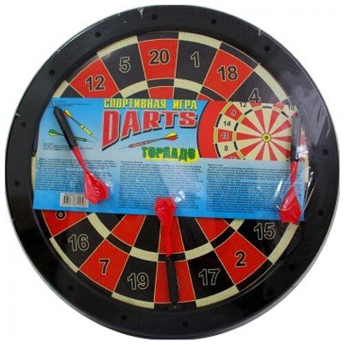 Купить Дартс Гелий Торнадо (00019) черный/красный, Спортивные игры и игрушки