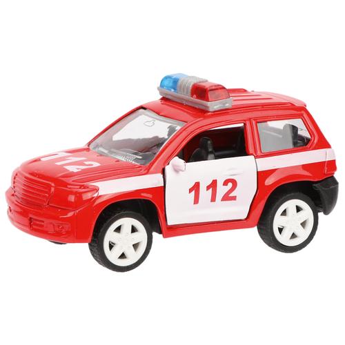 Купить Внедорожник Пламенный мотор Пожарная охрана (870358) 8 см красный, Машинки и техника