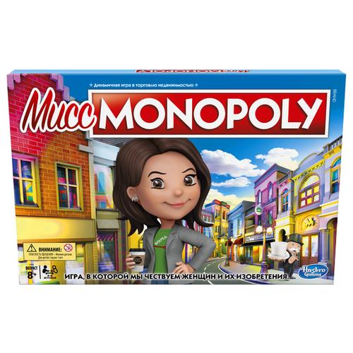 Купить Настольная игра Мисс Monopoly, Настольные игры
