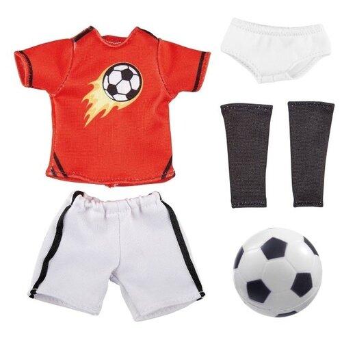 Одежда футболиста, с аксессуарами, для куклы Михаэль (23 см)