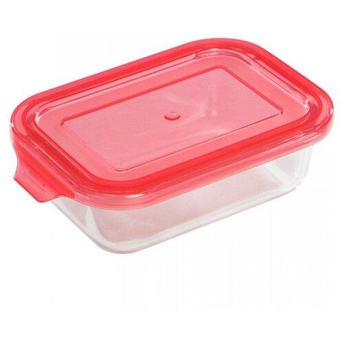 Mallony Контейнер Limpido 370мл 5479 прозрачный/красный по цене 375