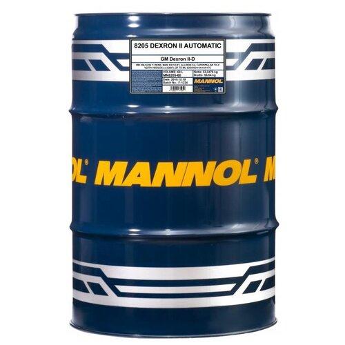 Трансмиссионное масло Mannol DEXRON II Automatic 60 л