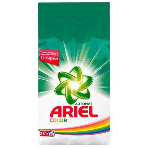 Стиральный порошок Ariel Color (автомат) 3 кг пластиковый пакет