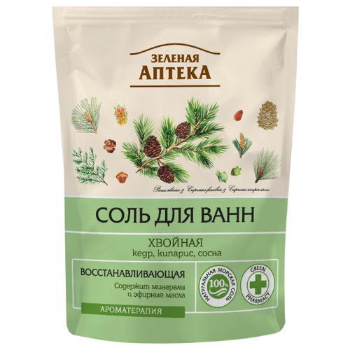 Зелёная Аптека Соль для ванн Хвойная, 500 г