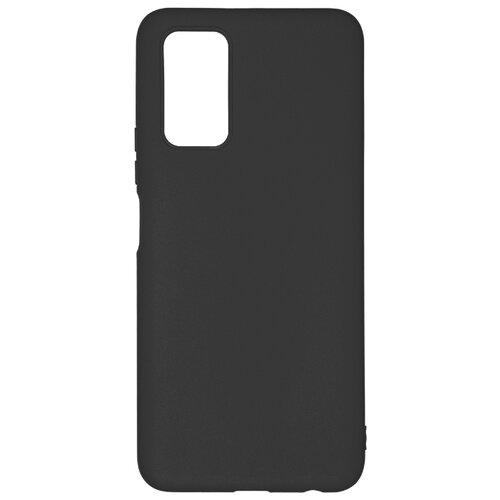 Клип-кейс PERO софт-тач для Honor 30S черный