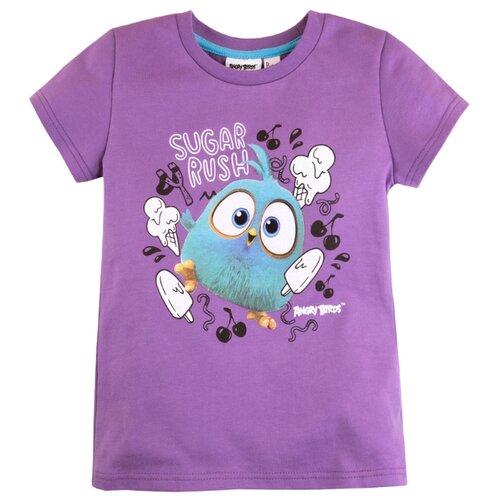 Футболка Bossa Nova размер 104, фиолетовый платье bossa nova размер 104 брусничный фиолетовый