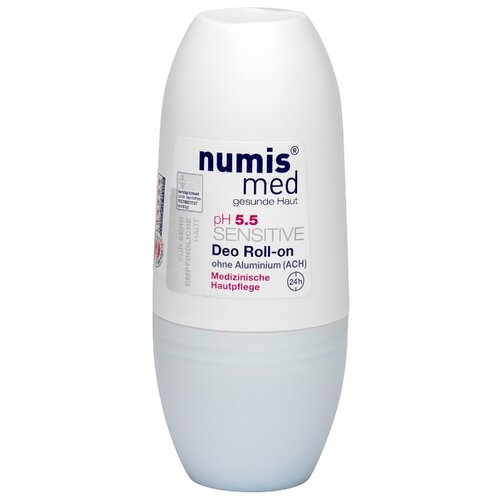 Numis med дезодорант, ролик, Sensitive рН 5,5, 50 мл