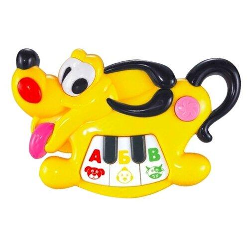 Развивающая игрушка Zhorya Музыкальные зверята Собака (ZY173460) желтый, Развивающие игрушки  - купить со скидкой