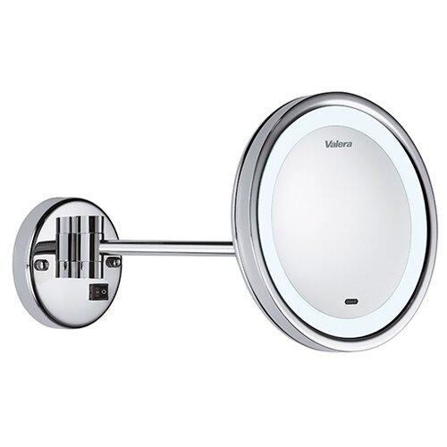 Зеркало косметическое настенное Valera 207.09 с подсветкой хром