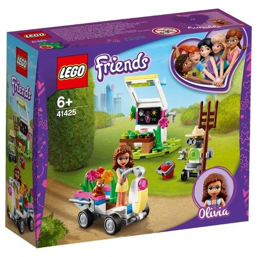 Конструктор LEGO Friends 41425 Цветочный сад Оливии конструктор lego friends 41398 дом стефани